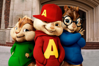 Alvin and the Chipmunks Background for Android, iPhone and iPad
