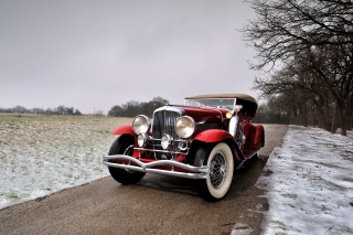 1932 Duesenberg Dual Cowl Torpedo Phaeton Wallpaper for Android, iPhone and iPad