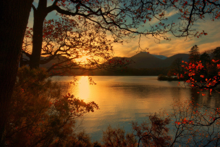 Free Peaceful Landscape Picture for Android, iPhone and iPad