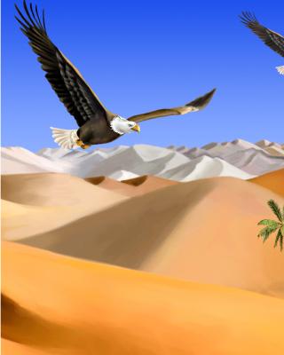 Desert Landscape - Obrázkek zdarma pro iPhone 4S