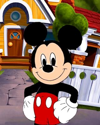 Mickey Mouse - Obrázkek zdarma pro Nokia Lumia 625