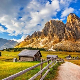South Tyrol and Dolomites - Obrázkek zdarma pro 1024x1024