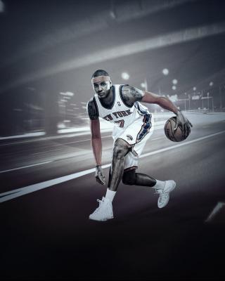 Carmelo Anthony from New York Knicks NBA - Obrázkek zdarma pro Nokia C2-02