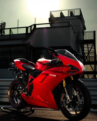 Bike Ducati 1198 - Obrázkek zdarma pro 480x640