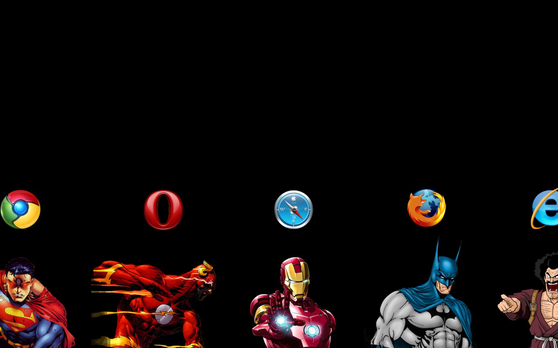 Browsers Chrome Opera Firefox Safari Fondos De