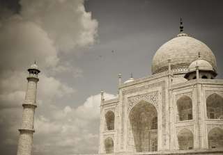 Taj Mahal Background for Android, iPhone and iPad