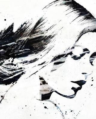 Catherine Zeta Jones Graffiti - Obrázkek zdarma pro Nokia C2-00