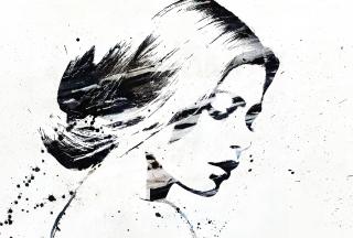 Catherine Zeta Jones Graffiti - Obrázkek zdarma pro Fullscreen 1152x864