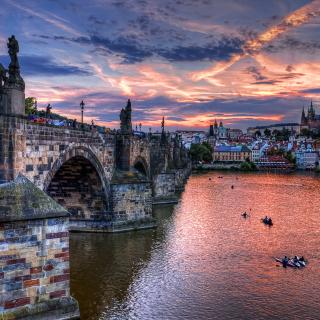 Charles Bridge in Prague - Obrázkek zdarma pro iPad