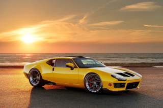 Ringbrothers 1971 De Tomaso Pantera Background for Android, iPhone and iPad