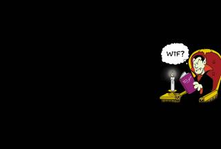 Dracula Reading Twilight - Obrázkek zdarma pro Sony Xperia C3