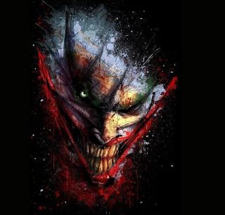Joker Batman - Obrázkek zdarma pro 208x208