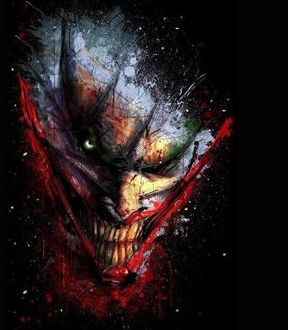 Joker Batman - Obrázkek zdarma pro 240x400
