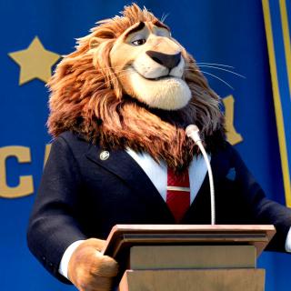 Zootopia Lion - Obrázkek zdarma pro iPad