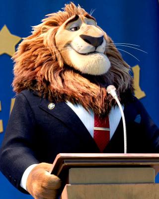 Zootopia Lion - Obrázkek zdarma pro iPhone 6