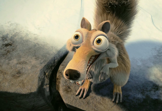 Squirrel From Ice Age Picture for Android, iPhone and iPad