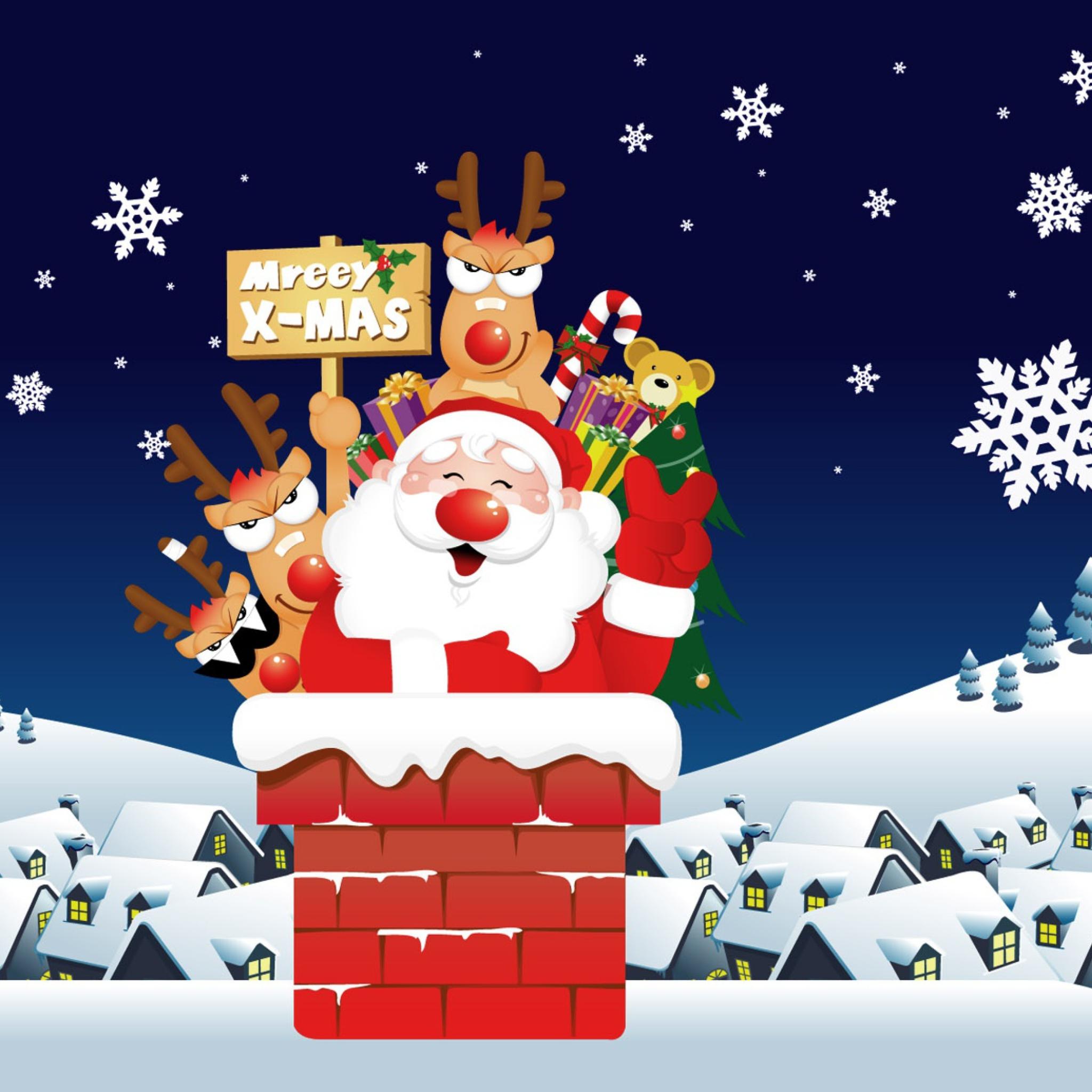 рождество,снежинки,снег,пингвиненок  № 442246 без смс