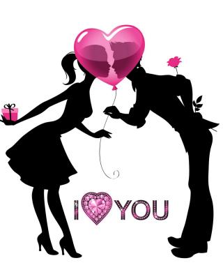 I Love You - Obrázkek zdarma pro Nokia Asha 300