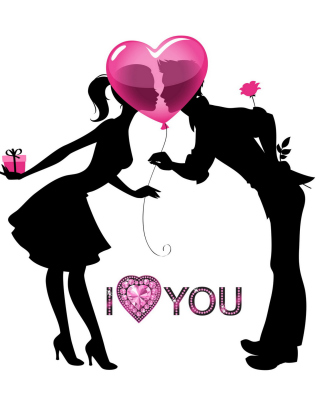I Love You - Obrázkek zdarma pro Nokia Lumia 505