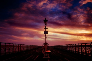 Free Pier Into The Dawn Picture for Android, iPhone and iPad