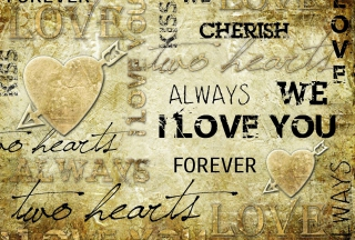 Always Love Forever Wallpaper for Android, iPhone and iPad