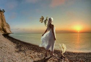 Princess Of Dragons - Obrázkek zdarma pro 800x480