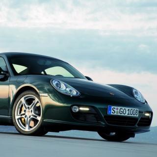Porsche Cayman - Obrázkek zdarma pro 320x320