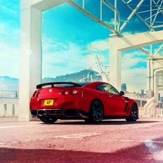 Nissan GT R R35 - Obrázkek zdarma pro 320x320
