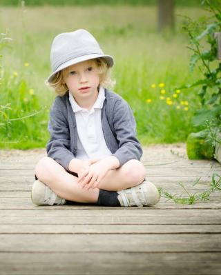 Cute Blonde Boy - Obrázkek zdarma pro Nokia C2-00
