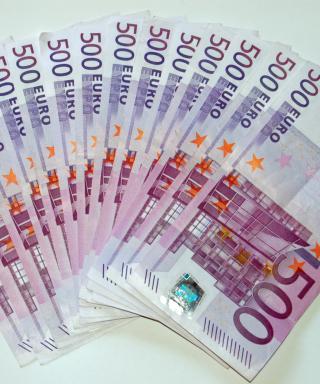 500 Euro Cash - Obrázkek zdarma pro 480x854