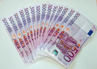 500 Euro Cash - Obrázkek zdarma pro 1024x600