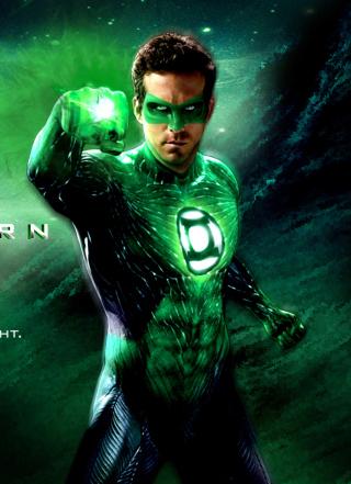 Green Lantern - DC Comics - Obrázkek zdarma pro Nokia X2