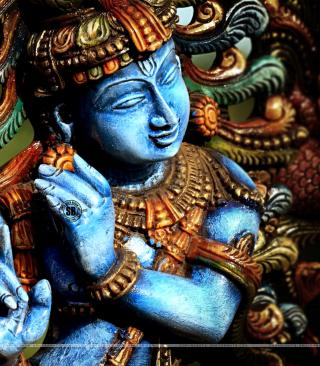 Lord Krishna - Obrázkek zdarma pro Nokia 206 Asha