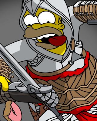 The Simpsons, Homer Simpson - Obrázkek zdarma pro 176x220