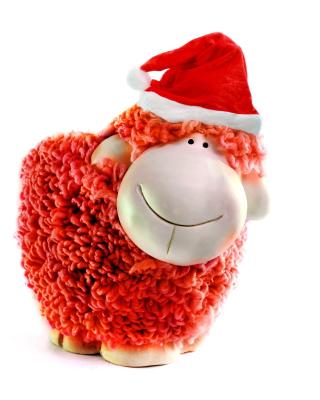 Sheep New Year 2015 Symbol - Obrázkek zdarma pro 320x480