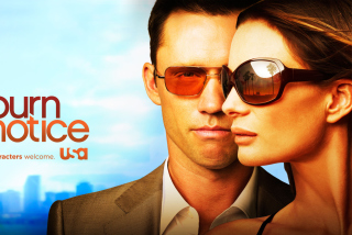Burn Notice Background for Android, iPhone and iPad