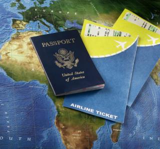 World Travel Tourism - Passport Visa - Obrázkek zdarma pro iPad mini 2