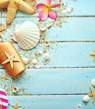 Seashells - Obrázkek zdarma pro iPhone 5C