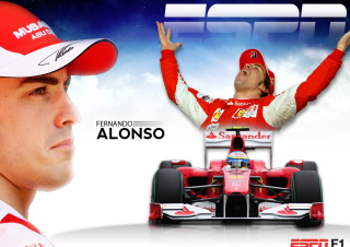 Free Fernando Alonso Picture for Android, iPhone and iPad