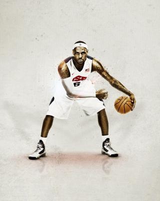 Nike USA Basketball - Obrázkek zdarma pro Nokia Asha 306