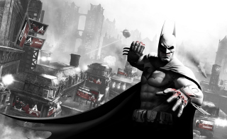 Arkham City Batman Background for Android, iPhone and iPad