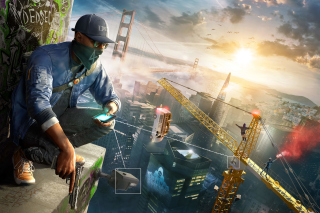 Watch Dogs 2 Background for Android, iPhone and iPad