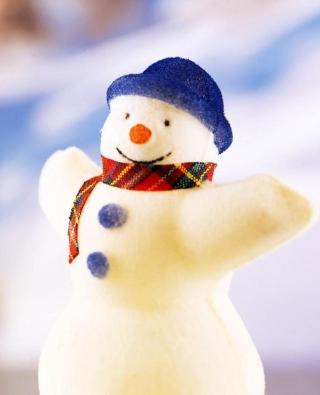 Happy Snowman - Obrázkek zdarma pro Nokia Asha 501