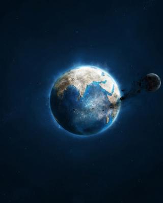Planet and Asteroid - Obrázkek zdarma pro Nokia Asha 306