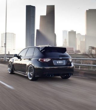 Subaru STi - Obrázkek zdarma pro iPhone 4