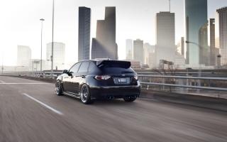Subaru STi - Obrázkek zdarma pro HTC Desire 310