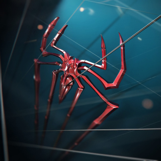 Spider Logo - Obrázkek zdarma pro 1024x1024