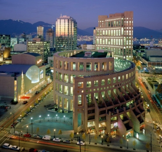 Vancouver - Obrázkek zdarma pro 1024x1024