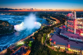 Niagara Falls Ontario Background for Android, iPhone and iPad