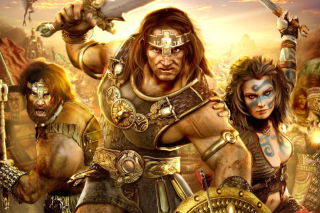 Age of Conan Background for Android, iPhone and iPad